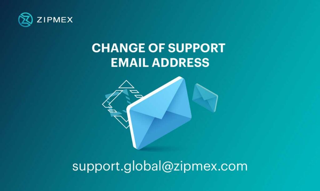 zipmex support email change global