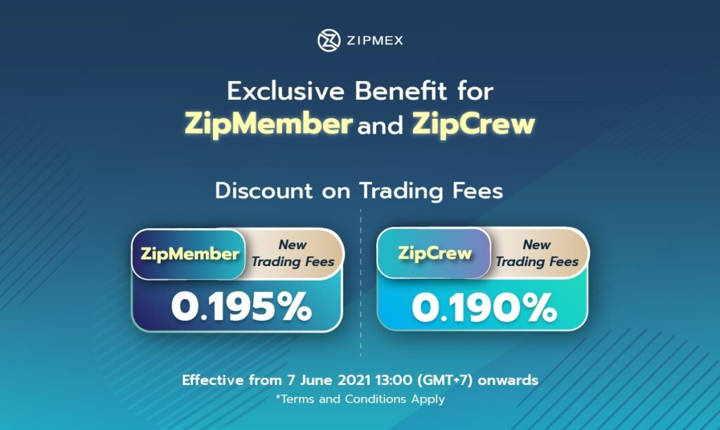 Discount on trading fees